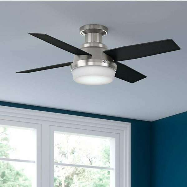 CEILING FAN 3 SPEED 44-inch Low-profile Reversible Blades NEW FREE SHIPPING