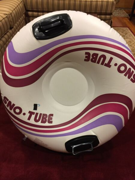 """Vintage Intex The Sport Set Snow Water Inner Tube Size 39"""" - Used - 1994"""
