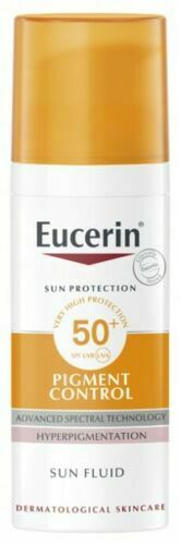 Eucerin Sun Fluid Pigment Control SPF50 50ml Hyperpigmentation Sunscreen NEW