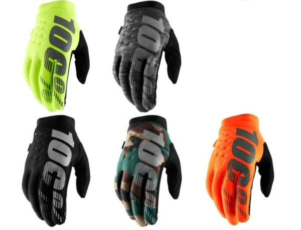 100% Brisker Gloves for Offroad Motocross Dirt Bike Riding $34.50