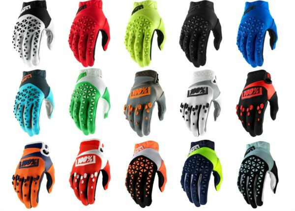 100% Airmatic Gloves Offroad Motocross Dirt Bike Riding $32.50