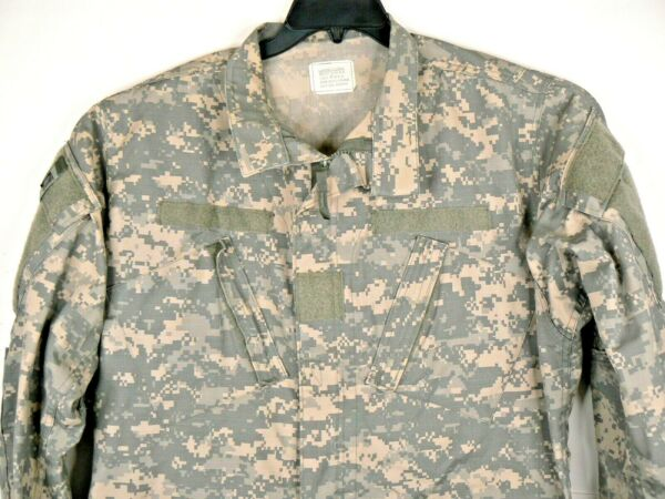 US Military Issue Camo Shirt Camouflage Large Long NATO Issue New