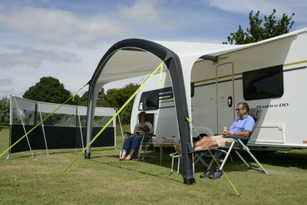 AIR TIGHT Waterproof Inflatable Caravan RV Camper Awning Canopy Camping Tent NEW
