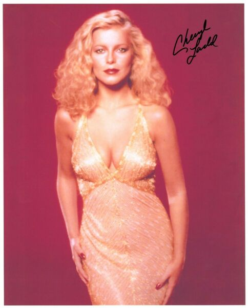 CHERYL LADD hand-signed BUSTY YOUNG 8x10 lifetime coa SEXY CURVES COLOR CLOSEUP