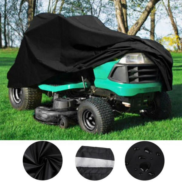 72quot; Outdoor Lawn Mower Tractor Cover Heavy Duty Waterproof UV Protection Coating $20.59