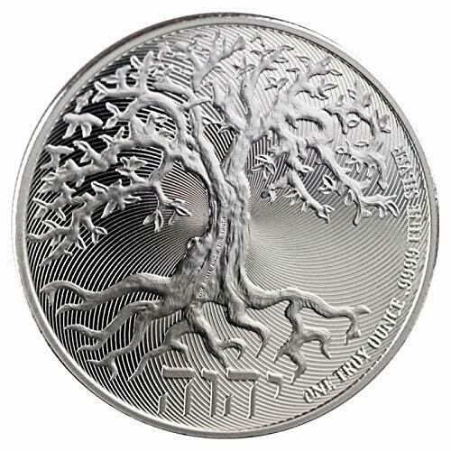 FREEDOM MINT NYC 1 oz Silver Round Tree of Life.(Box Bag & etc) 1 Unit
