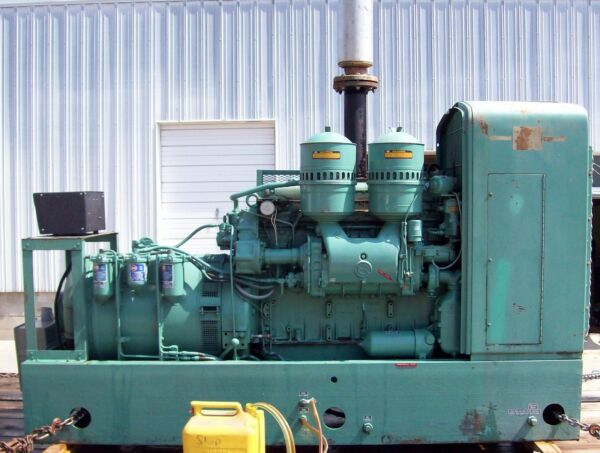 115kW DELCO Diesel Standby Generator with DETROIT engine!