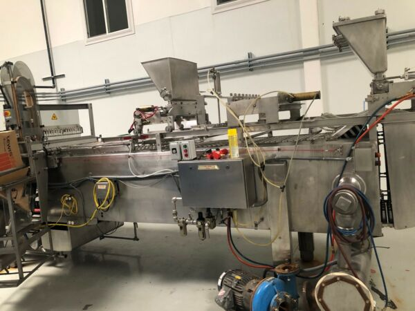 Vitaline 8 Wide Automatic 10000 Bars per Hour Ice Cream Bar Machine