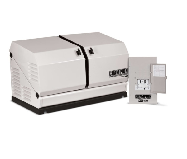Champion 100295 14kW Standby Power Backup Generator LP Propane NG ATS NEMA 1 NEW