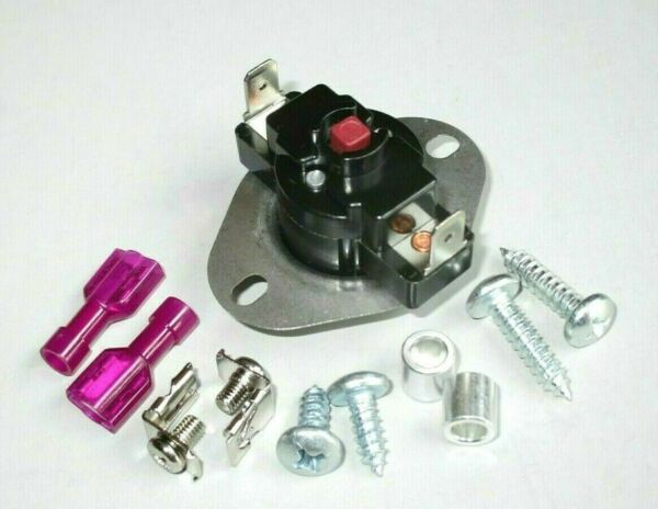 Multi-Mount Manual Reset High Temp Limit Safety Switch L180F for Furnace