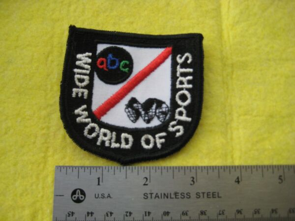 Vintage ABC Wide World Of Sports Patch