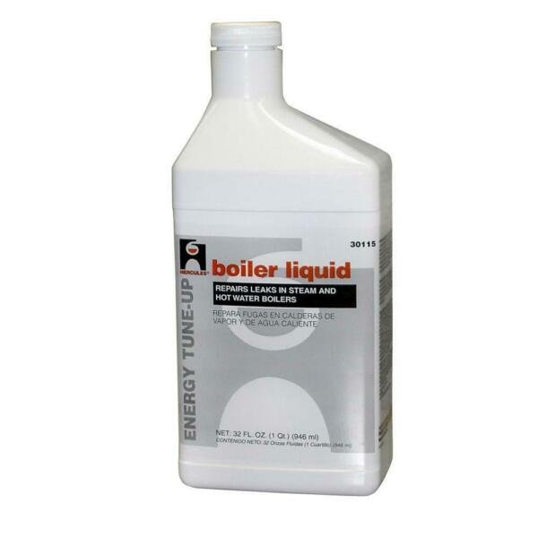 Boiler Liquid 1 Qt Conceal Repair Cracks Odor Free No-Clog Steam Heater Vent
