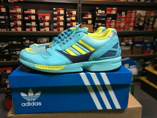 Brand New Adidas ZX 8000 OG Aqua 2020 Sz US 12.5, with boost in midsole