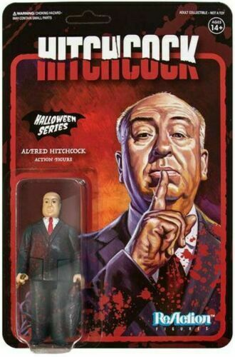 Alfred Hitchcock Halloween Series Super 7 Reaction Action Figure New