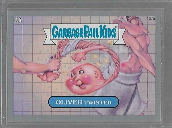 2013 Garbage Pail Kids Brand New Series 2 Oliver Twisted Grey Border 107a