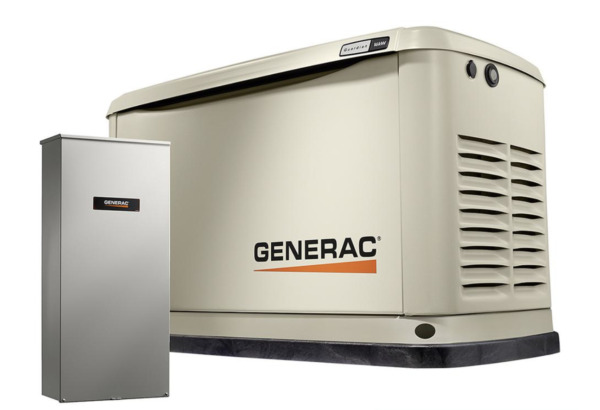 Home Standby Generator 16KW Guardian 100A w Wi-Fi Transfer Switch Generac 7036