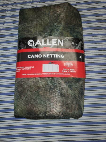 NEW Allen Camo Netting Mossy Oak Break Up Country Blind Cover Hunting Fabric