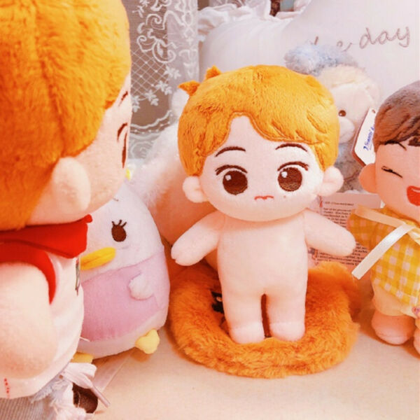 15cm KPOP NCT Plush Marky Doll Toy Original from MarkLee Bar 【without clothes】
