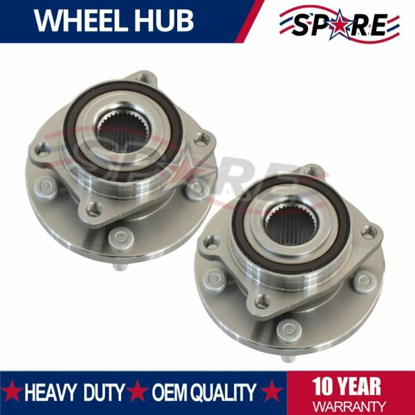 2 Front Wheel Bearing and Hub 2002-2006 Chevy Equinox Saturn Vue Pontiac Torrent