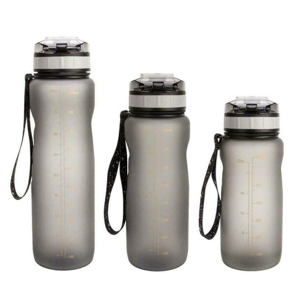 New Outdoor Sports Portable Water Bottles Plastic Round Travel Water Bottle $10.99
