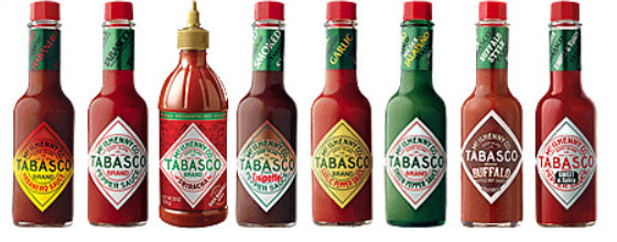 TABASCO Hot Sauce  (select quantity)