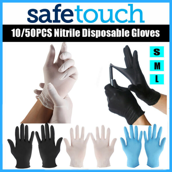 Free Rubber Nitrile Gloves Disposable Gloves Kitchen & Dining Cleaning Supplies