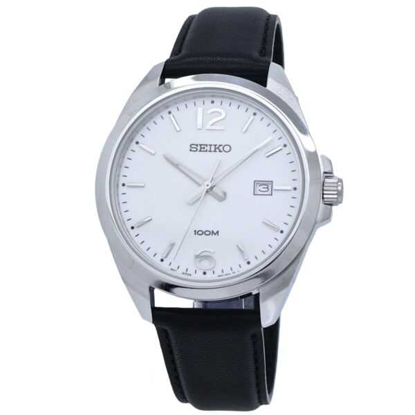 Seiko Neo Classic Leather Band Men's Watch SUR213