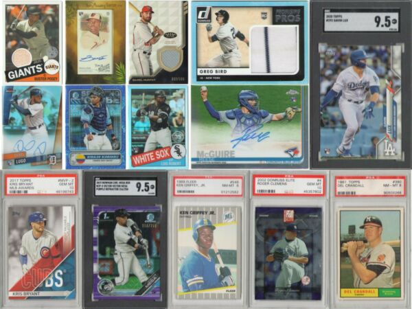 3-2-1 Baseball Mystery Explosion Pack 3 Rookie Year Cards 2 Inserts