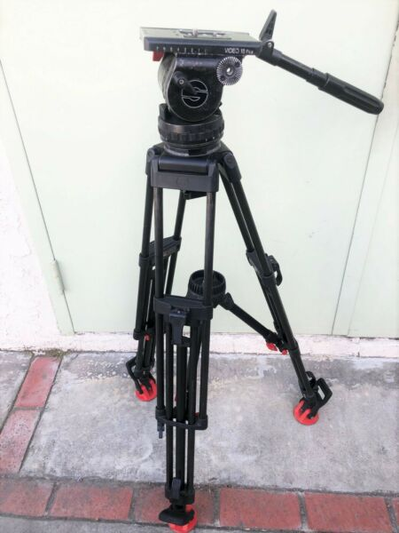 Sachtler Video 18P Fluid Head & Carbon Fiber Tripod System