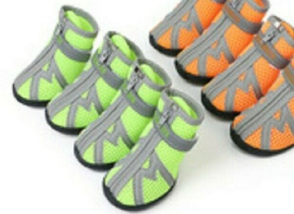 HC Pet All Weather Dog Hiking ShoesDog Outdoor Shoes with Anti Slip Sole Size L $21.00