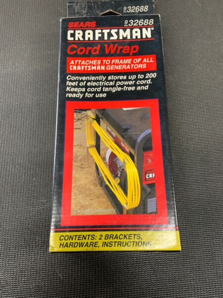 NEW Craftsman Cord Wrap for generator RV boat camp store power cord #932688