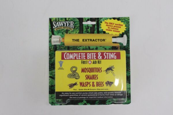 Sawyer Complete Bite amp; Sting First Aid Kit Mosquitos SnakesWasps amp; Bees $18.99