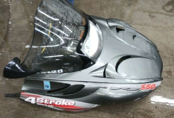 Complete Hood Windshield and all electric assembly T660 2002 Arctic Cat $299.00