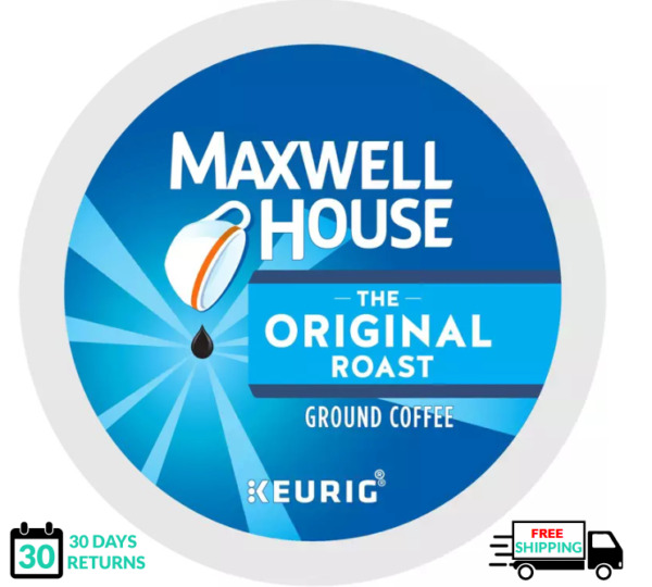 Maxwell House Original Roast Keurig Coffee K cups YOU PICK THE SIZE