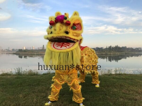 2020 Chineses Lion Dance Costume Party Cosplay Costume Adult Size Lion Costumes $461.85