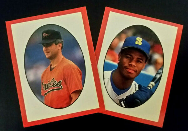 1990 Red Foley's Best Baseball Book Cover Photo Mini Cards * Pick Your Player *