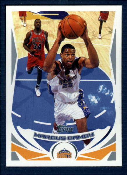 2004-05 Topps   #63 Marcus Camby 13   Nuggets     ID:151763