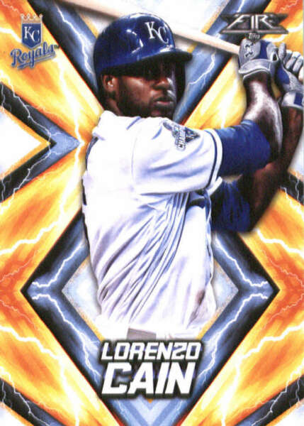 2017 Topps Fire #30 Lorenzo Cain NM MT Royals ID:165860