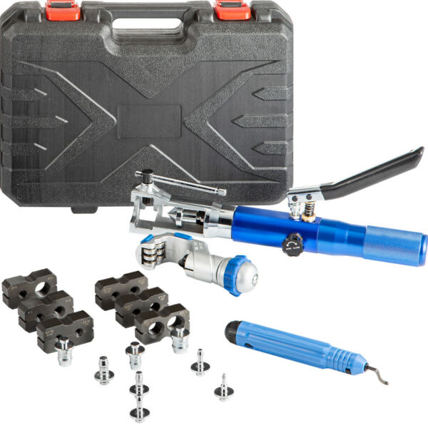 VEVOR Hydraulic Tube Flaring amp;amp; Expander Kits 3 16quot; 7 8quot; 8 Dies 45° Flares $154.98