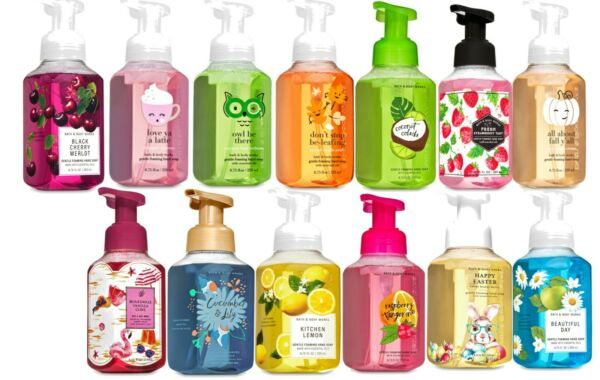 Bath and Body Works Authentic Hand Soap Foaming Cleansing NEW FALL SCENTS!