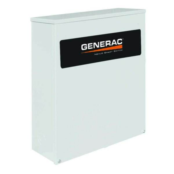 Generac Single Phase Automatic Transfer Switch w Power Management Open Box
