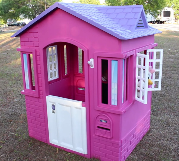 Playhouse for Kids Girl Child Outdoor Indoor Large Portable Castle House Sturdy $190.00