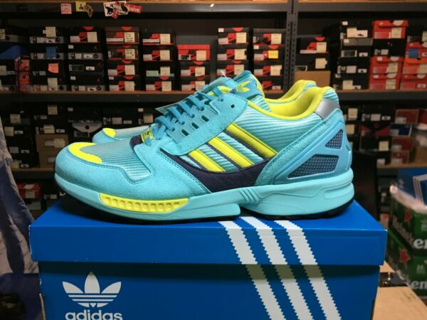 Brand New Adidas ZX 8000 OG Aqua 2020 Sz US 12, with boost in midsole