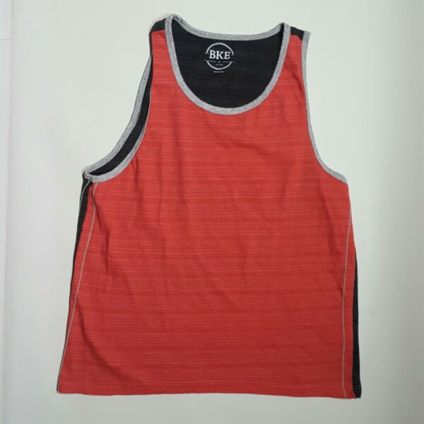 BKE Buckle Large L Red Women#x27;s Tank Top Pullover Sleeveless Shirt $8.95