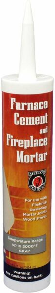 MEECO#x27;S RED DEVIL 121 Furnace Cement and Fireplace Mortar $11.99