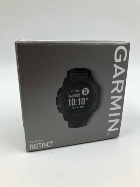 Garmin Instinct Rugged GPS Smart Watch - Graphite (010-02064-00) (22051945-1)