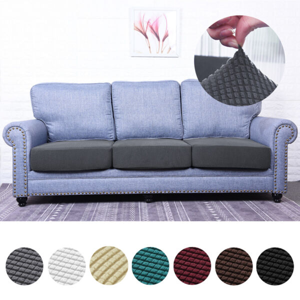ANMINY Replacement Stretch Chair Sofa Seat Cushion Cover Couch Slipcover Protect $9.98