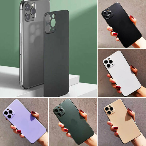 Luxury For iPhone Sticker Thin Shockproof Len Film Back Case Cover Phone Skin SZ $1.99