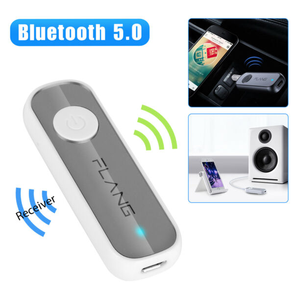 Bluetooth 5.0 Receiver Adapter 3.5mm Jack Car AUX Stereo For Headphone TV Phone $9.97