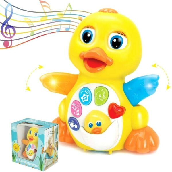Duck Toy Best Musical Baby for 1 Year Old Girl Boy Babies Infant toddler Music $17.90